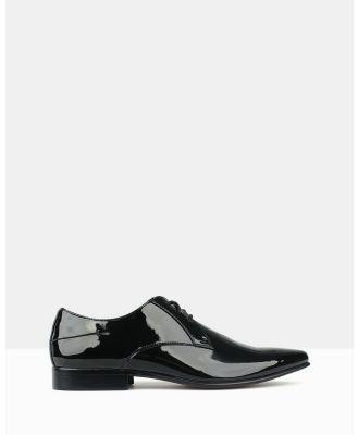 Betts - Titan Derby Dress Shoes - Dress Shoes (Black Patent) Titan Derby Dress Shoes