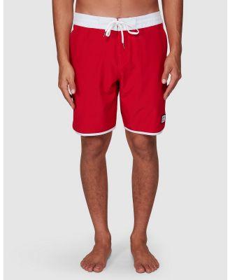 Billabong - Stubbies 73 Lt Boardshorts - Swimwear (RED) Stubbies 73 Lt Boardshorts