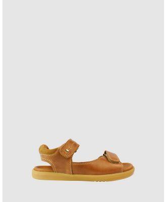 Bobux - Kid+ Driftwood Sandals - Sandals (Caramel Ii) Kid+ Driftwood Sandals