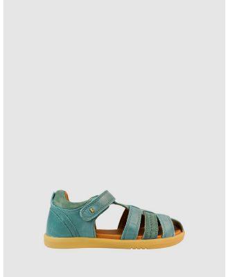 Bobux - Kid+ Roam Sandals Boys - Sandals (Slate) Kid+ Roam Sandals Boys