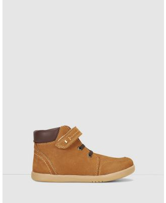 Bobux - Kid+ Timber Boots - Boots (Mustard) Kid+ Timber Boots