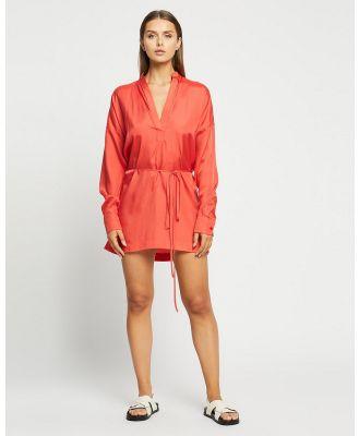 BONDI BORN - Mini Tunic - Dresses (Vermillion) Mini Tunic