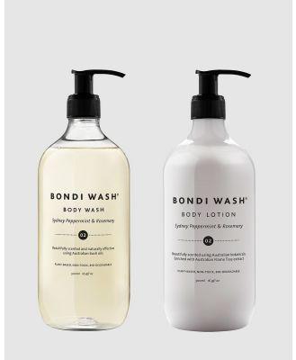 Bondi Wash - Body Pamper Duo - Beauty (Natural) Body Pamper Duo