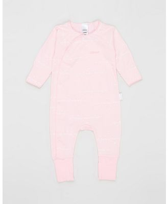 Bonds Baby - Cozysuit Coverall   Babies - Longsleeve Rompers (Pink Print) Cozysuit Coverall - Babies