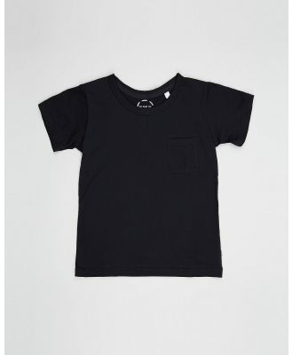 Bonds Kids - Basic Aussie Cotton Tee   Kids - T-Shirts & Singlets (Black) Basic Aussie Cotton Tee - Kids