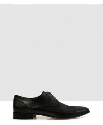 Brando - Stuart S Lace Ups - Dress Shoes (Black-900) Stuart-S Lace Ups