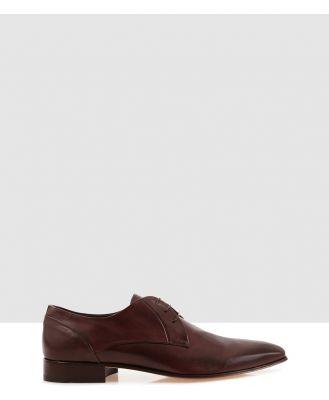 Brando - Stuart S Lace Ups - Dress Shoes (Brown-200) Stuart-S Lace Ups