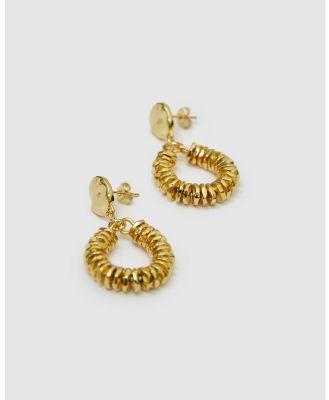 Brie Leon - Valerie Drop Earrings - Jewellery (Gold) Valerie Drop Earrings