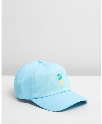 Buba & La - Pineapple Cap - Headwear (Light Blue) Pineapple Cap