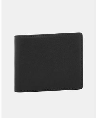 Buckle - George RFID Leather Wallet - Wallets (Black) George RFID Leather Wallet