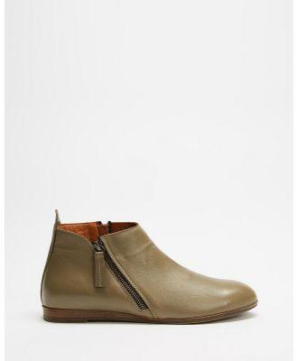 Bueno - Halo - Boots (Olive) Halo