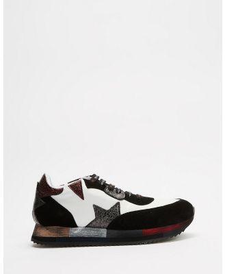 Bueno - Sale - Sneakers (White & Black ) Sale