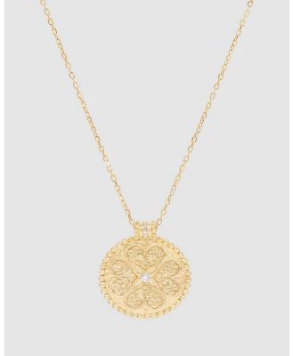 By Charlotte - Believe In Luck Necklace - Jewellery (Gold) Believe In Luck Necklace
