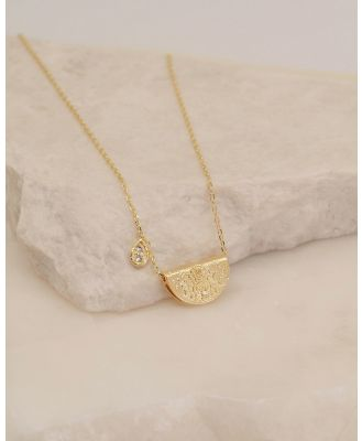 By Charlotte - Shine Brightly April Necklace - Jewellery (Gold) Shine Brightly April Necklace