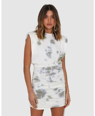 BY.DYLN - Miles Dress - Dresses (Khaki Tie Dye) Miles Dress