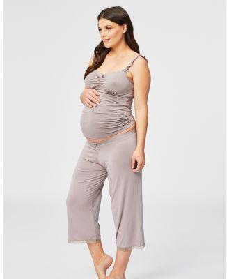 Cake Maternity - Apple Crumble Lounge & Pyjama Pants - Sleepwear (Grey) Apple Crumble Lounge & Pyjama Pants