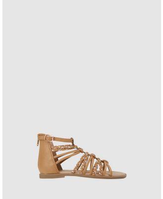 Candy - Arianna - Sandals (Tan) Arianna