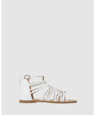 Candy - Arianna - Sandals (White) Arianna