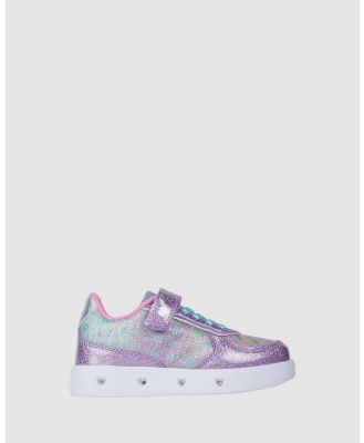Candy - Charley Hearts - Sneakers (Lilac) Charley Hearts