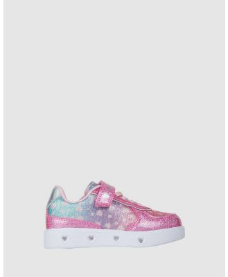 Candy - Charley Hearts - Sneakers (Pink) Charley Hearts