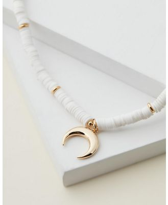 Cara O Sello - Summer Glam Necklace - Jewellery (White) Summer Glam Necklace