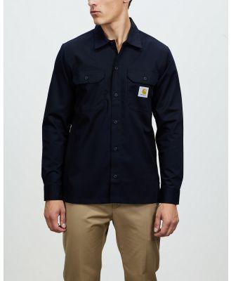 Carhartt - LS Master Shirt - Casual shirts (Dark Navy) LS Master Shirt