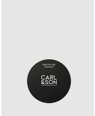Carl & Son - Face Filter Invisible - Beauty (Black) Face Filter Invisible
