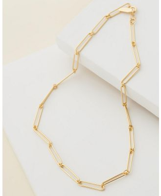 Carly Paiker - Calabria Chain Necklace - Jewellery (Gold) Calabria Chain Necklace