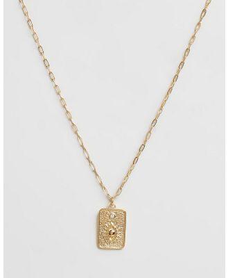 Carly Paiker - Deity Pendant - Jewellery (Gold) Deity Pendant