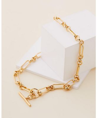Carly Paiker - Delta Toggle Necklace - Jewellery (Gold) Delta Toggle Necklace