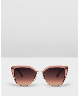 Carolina Lemke Berlin - CL7614 SG OPT 06 - Sunglasses (gradient brown) CL7614 SG OPT 06