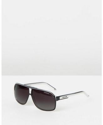 Carrera - GRAND PRIX 2 - Sunglasses (BKCRWHT) GRAND PRIX 2