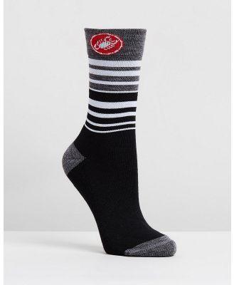 Castelli - Castelli Women's Righina 13 Sock - Socks & Tights (Black) Castelli Women's Righina 13 Sock