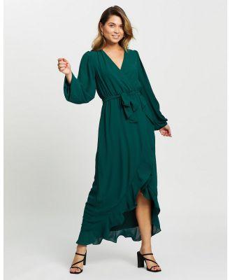 CHANCERY - Hannah Maxi Dress - Dresses (Emerald) Hannah Maxi Dress