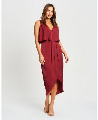 CHANCERY - Larissa Midi - Dresses (Burgundy) Larissa Midi
