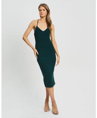 CHANCERY - Rowland Midi - Dresses (Emerald) Rowland Midi
