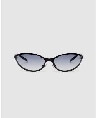 CHARLOTTE MERCY - Dakota - Sunglasses (Black) Dakota