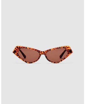 CHARLOTTE MERCY - Oshawa - Sunglasses (Brown) Oshawa
