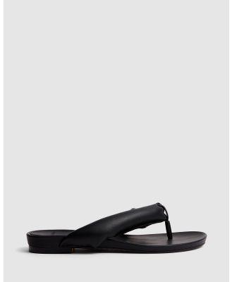 cherrichella - Breeze Sandals - All thongs (Black) Breeze Sandals