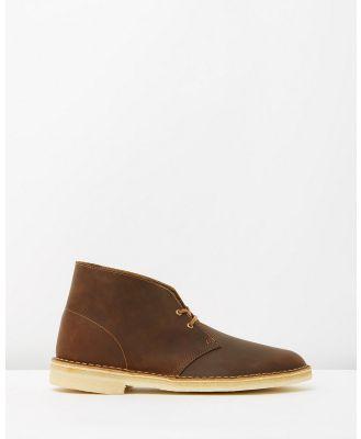 Clarks Originals - Desert Boots - Boots (Beeswax Leather) Desert Boots