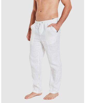 Coast Clothing - Coast Linen Pant   White - Pants (White) Coast Linen Pant - White