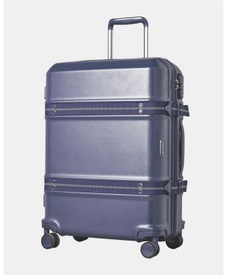 Cobb & Co - Sydney Polycarbonate Large Hard Side Case - Bags (BLUE) Sydney Polycarbonate Large Hard Side Case