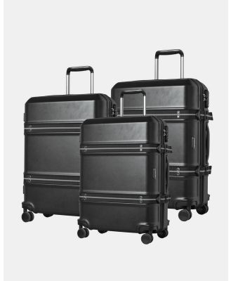 Cobb & Co - Sydney Polycarbonate Luggage 3 Piece Set - Bags (black) Sydney Polycarbonate Luggage 3 Piece Set