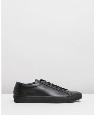 Common Projects - Achilles Low   Men's - Sneakers (Black) Achilles Low - Men's