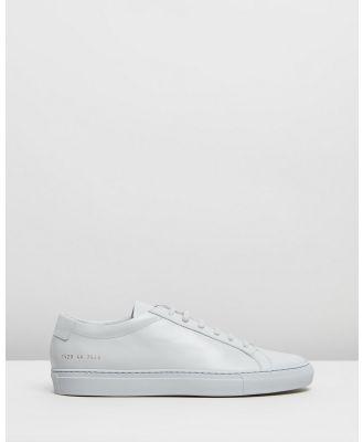 Common Projects - Achilles Low   Men's - Sneakers (Grey) Achilles Low - Men's