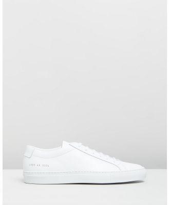 Common Projects - Original Achilles Low   Women's - Sneakers (White) Original Achilles Low - Women's