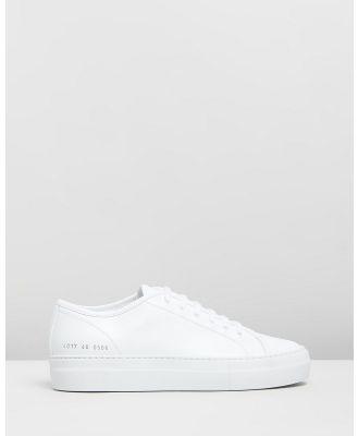 Common Projects - Tournament Low Super   Women's - Sneakers (White) Tournament Low Super - Women's