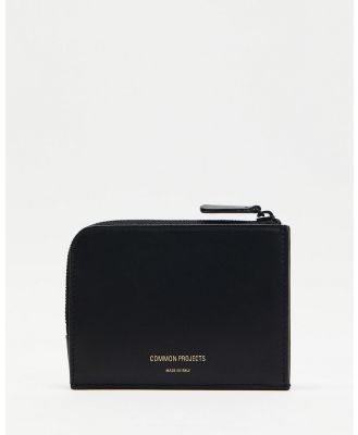 Common Projects - Zipper Wallet - Wallets (Black) Zipper Wallet
