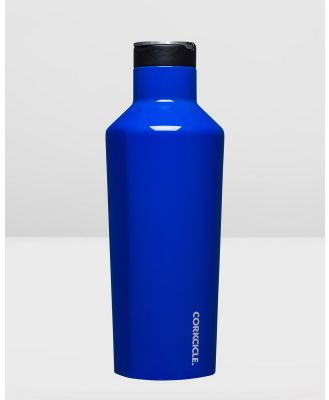 CORKCICLE - Insulated Stainless Steel Sports Canteen 1200ml Classic - Water Bottles (Blue) Insulated Stainless Steel Sports Canteen 1200ml Classic