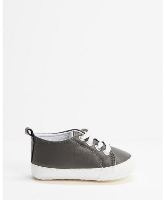 Cotton On Baby - Mini Classic Trainers   Babies - Slip-On Sneakers (Rabbit Grey) Mini Classic Trainers - Babies